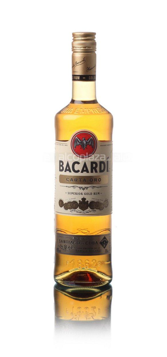 Bacardi Carta Oro 0.7l ром Бакарди Карта Оро 0.7 л.