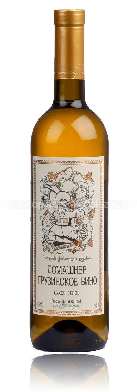 Белое сухое вино домашнее