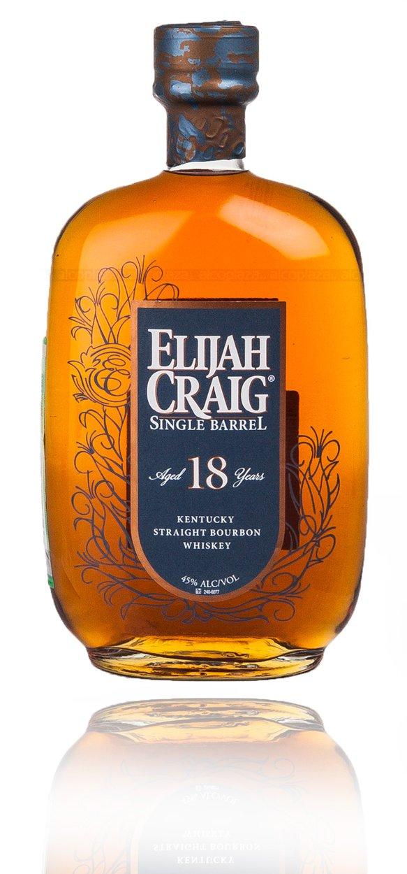 Elijah Craig Single Barrel 18 Years Old 0.75l виски Элайджа Крейг Сингл Баррел 18 лет 0.75 л.