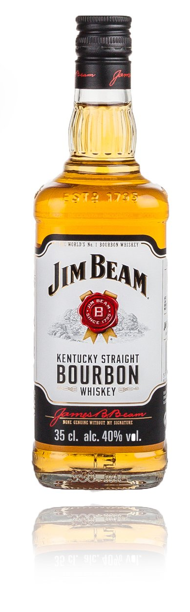 Jim Beam Bourbon 0.35 ml виски Джим Бим Бурбон  0.35 л
