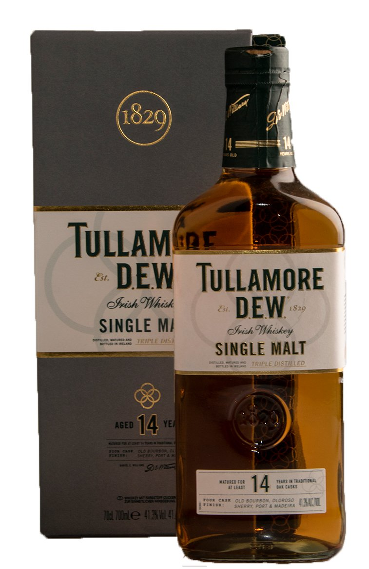 Tullamore Dew 14 years виски Талламор Дью 14 лет 0.7 л