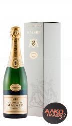 Malard Demi-Sec шампанское Малар Деми-Сек