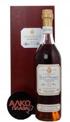 Louis Royer 39 years Grande Champagne 0.7l Wooden Box коньяк Луи Руайе 39 лет Гранд Шампань 0.7 л.в дер./уп.