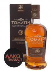 Tomatin 18 years виски Томатин 18 лет