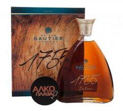 Gautier X.O. Extra 1755 французский коньяк Готье X.O. Экстра 1755