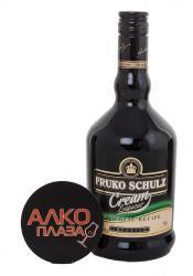 Fruko Schulz Cream ликер Фруко Шульц сливочный со стаканом