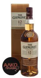 Glenlivet 12 Excellence 0,7l Виски Гленливет 12 лет Экселленс 0,7л в п/у.
