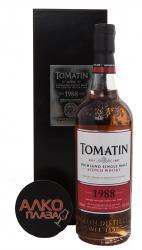 Tomatin 1988 0.7l виски Томатин 1988 года 0.7л в п/у