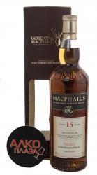 MacPhails 15 years виски Макфейлс 15 лет