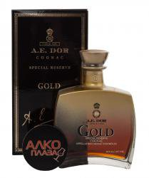 A.E.Dor Gold 0.7l Gift Box коньяк А.Е.Дор Голд 0.7 л. в п/у
