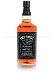 Jack Daniels 1.0 виски Джек Дэниэлс 1 л.