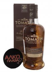Tomatin Legacy виски Томатин Легаси