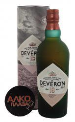 Deveron 18 Years Old 0.7l in tube виски Дэверон 18 лет 0.7 л. в тубе