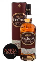 Glen Turner Heritage Double Cask - виски Глен Тернер Эритаж Дабл Каск 0.7 л в тубе