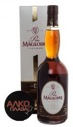 Pere Magloire 12 Years Old 0.7l Gift Box кальвадос Пер Маглуар 12 лет 0.7 л. в п/у