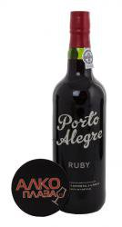 Porto Alegre Ruby 0.75l Портвейн Порто Алегре Руби 0.75 л.