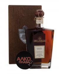 Grappa Affinata in botti da Whisky Граппа Делавалле Аффината ин ботти да Виски Глен Скотия и Боумо Кэскс 2002г