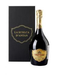La Scolca Brut Millesimato Riserva d`Antan 0.75l вино игристое Ла Сколька Брют Миллезимато Ризерва д`Антан 0.75 л.