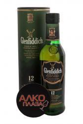 Glenfiddich 12 years old 0.375 l виски Гленфиддик 12 лет 0.375 л