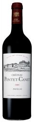 Chateau Pontet-Canet Pauillac AOC 5-me Grand Cru 2004 0.75l французское вино Шато Понте-Кане Пойяк 5-й Гран Крю 2004 0.75 л.