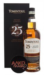 Виски Томинтул Спейсайд Гленливет 25 лет в подарочной упаковке