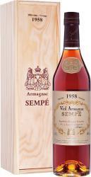 Sempe 1958 0.7l Wooden Box арманьяк Семпе 1958 0.7 л. в дер./уп.