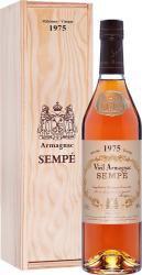 Sempe 1975 0.7l Wooden Box арманьяк Семпе 1975 0.7 л. в дер./уп.