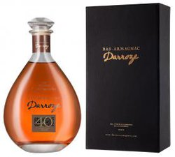 Darroze Bas-Armagnac Les Grands Assemblages 40 Ans d`Age 0.7l decanter арманьяк Дарроз Баз-Арманьяк Ле Гран Ассамбляж 40 Ан д`Аж 0.7 л. в декантере