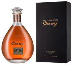 Darroze Bas-Armagnac Les Grands Assemblages 50 Ans d`Age 0.7l decanter арманьяк Дарроз Баз-Арманьяк Ле Гран Ассамбляж 50 Ан д`Аж 0.7 л. в декантере