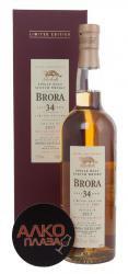 Whisky Brora 34 years Виски односолод. Брора выдержка 34 года