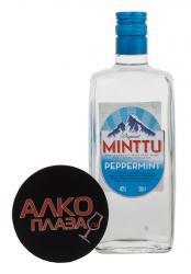 Minttu Peppermint ликер Минтту Перечная Мята