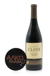 Cline Sonoma County Syrah американское вино Клайн Сонома Каунти Сира