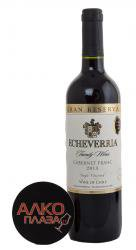 Echeverria Cabernet Fran Gran Reserva Чилийское вино Эчеверрия Каберне Фран Гран Резерва