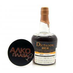 Dictador Best of Rum Style 1982 0.7l ром Диктатор Бест оф Ром Стайл 1982 0.7 л.