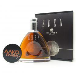 Gautier Eden 0.7l Gift Box французский коньяк Готье Эден 0.7 л. в п/у