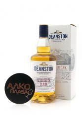 Deanston Virgin OAK gift box - виски Динстон Верджин ОАК 0.7 л п/у