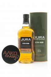 Jura Seven Wood 0.7l in Tube виски Джура Сэвен Вуд 0.7 л. в тубе