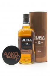 Jura 12 Years Old 0.7l in Tube виски Джура 12 лет 0.7 л.в тубе