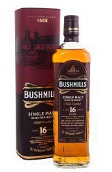 Bushmills 16 years Ирландский виски Бушмилз 16 лет