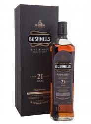 Bushmills 21 years Ирландский виски Бушмилз 21 лет