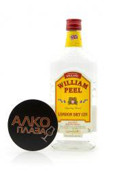 William Peel London Dry Gin 0.7l джин Вилльям Пил Лондон Драй 0.7 л.