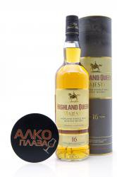 Highland Queen Majesty 17 years old 0.7L Gift Box виски Хайлэнд Куин Меджести 16 лет 0.7л в п/у