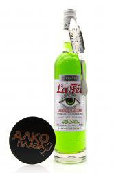 Absinthe La Fee Absinthe Parisienne 0,75l with absinthe spoon Абсент Ла Фе Абсент Паризьен 0.75л