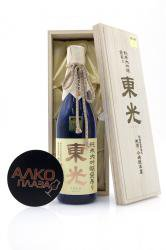 Sake Toko Junmai Daiginjo Drip (gift box) 0.72l сакэ Токо Дайгиндзё Дрип в подарочной упаковке (дерево) 0,72л