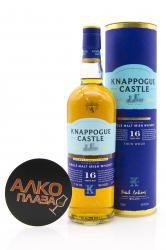 Knappogue Castle 16 years old Twin Wood 0.7l in tube виски Напок Касл 16 лет Твин Вуд 0.7л в тубе