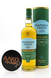 Knappogue Castle 14 years old Twin Wood 0.7l in tube виски Напок Касл 14 лет Твин Вуд 0.7л в тубе