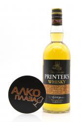 Whisky Printers 6 years old 0.7l Виски Принтерс 6 лет 0.7л