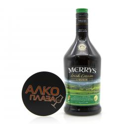 Merrys Irish Cream 0.7l ликер Мэррис Айриш Крем 0.7 л.
