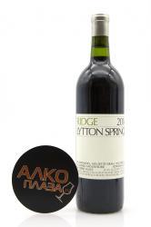 Ridge Lytton Springs 0.75l американское вино Ридж Литтон Спрингз 0.75 л.