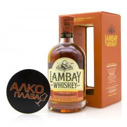 Whisky Lambay Single Malt  0.7l Виски Ламбэй Сингл Молт 0.7л